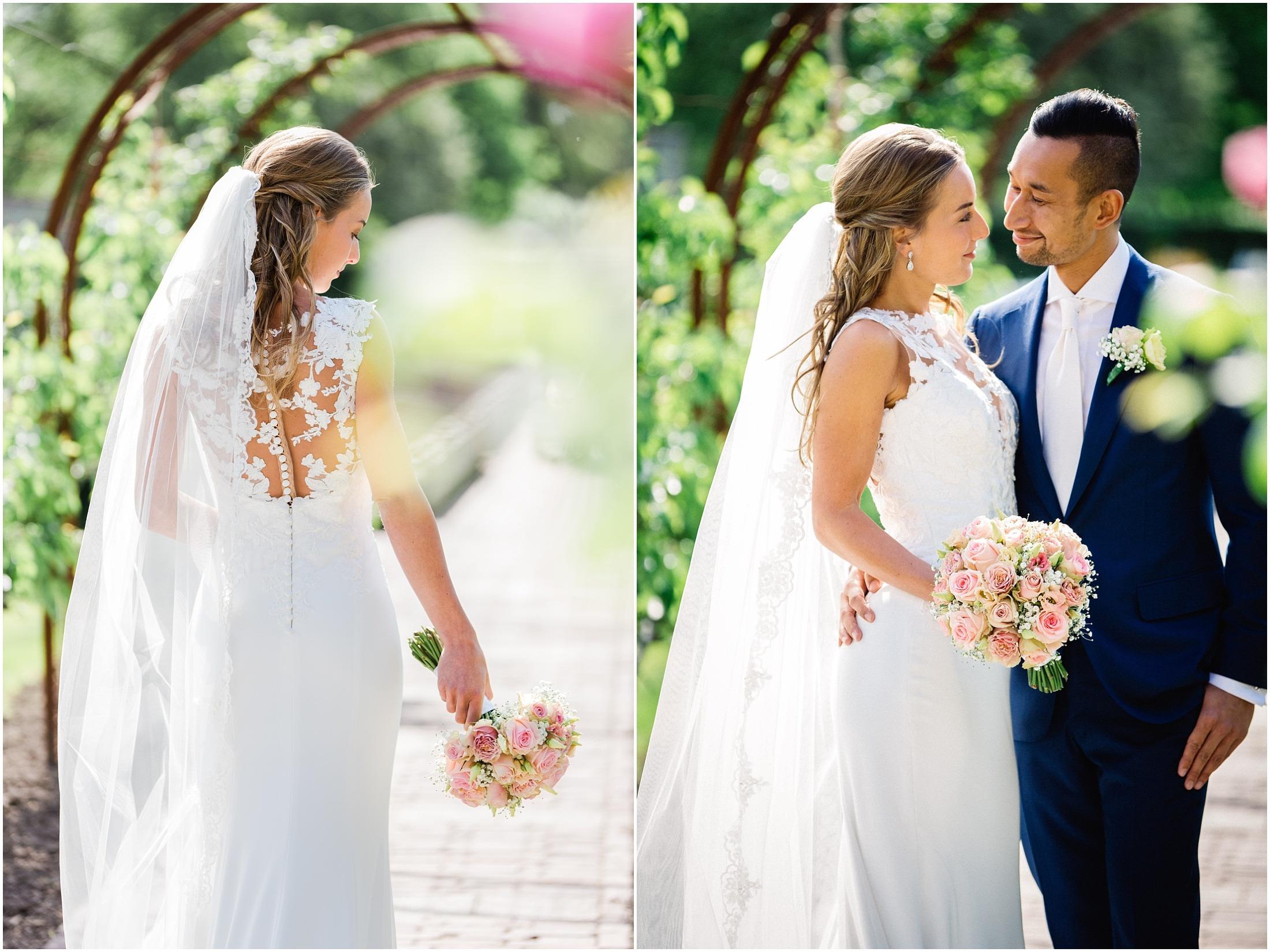 Bruidsreportage de Viersprong / Villa Augustus